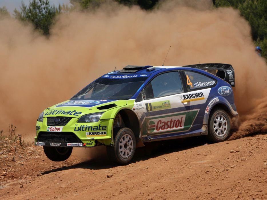 2005 Ford Focus WRC race racing  f wallpaper