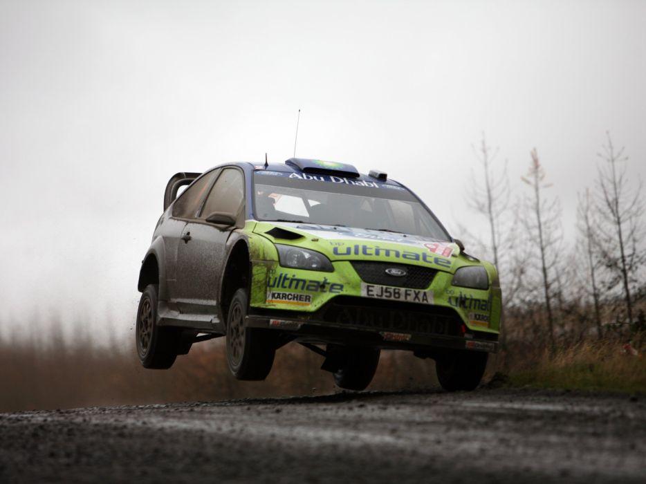 2005 Ford Focus WRC race racing  hs wallpaper