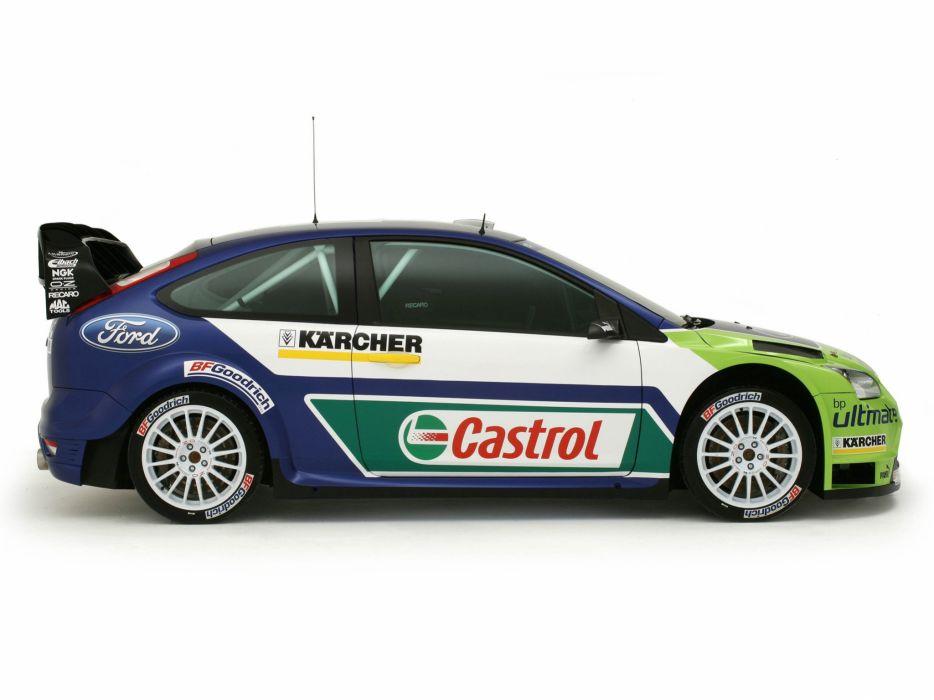 2005 Ford Focus WRC race racing  j wallpaper