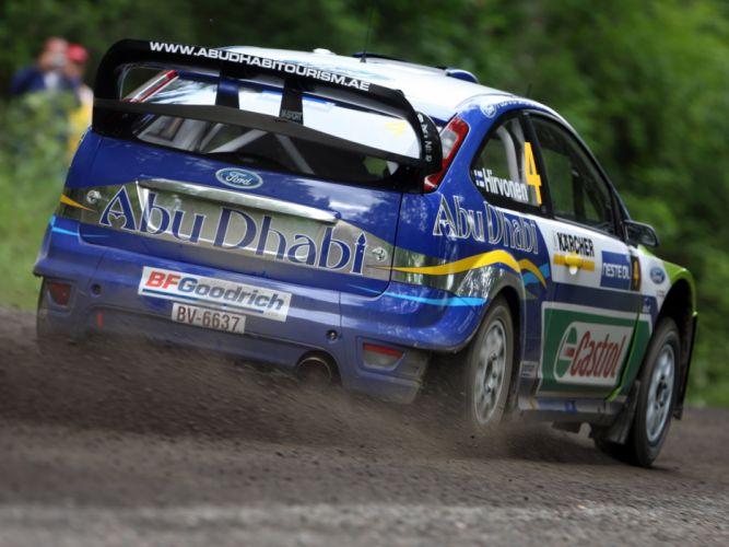 2005 Ford Focus WRC race racing t wallpaper