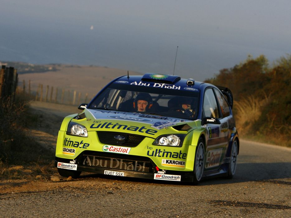 2005 Ford Focus WRC race racing  t wallpaper