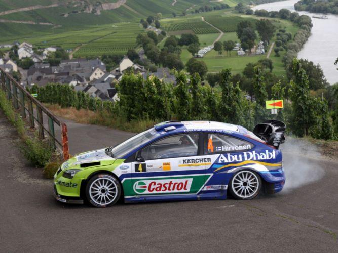 2005 Ford Focus WRC race racing te wallpaper