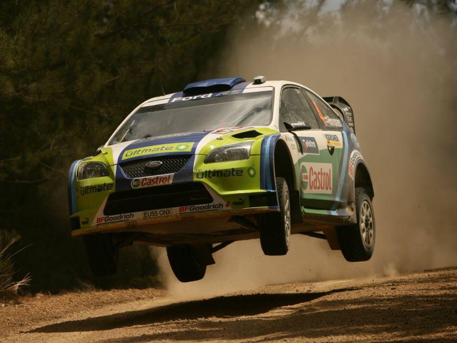 2005 Ford Focus WRC race racing fs wallpaper