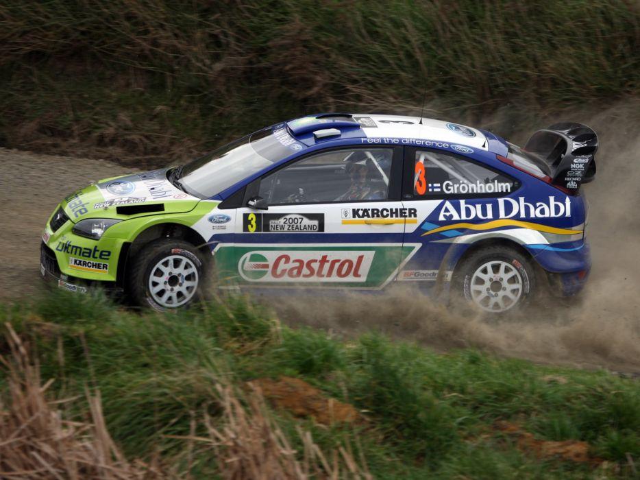 2005 Ford Focus WRC race racing jj wallpaper