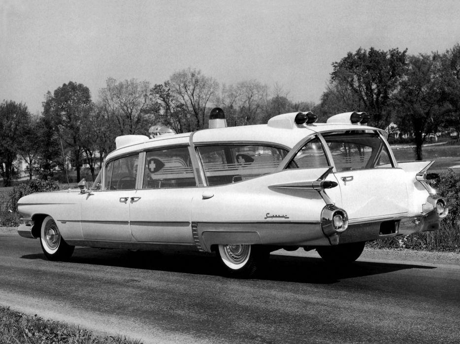 1959 Superior Cadillac Crown Royale Ambulance (6890) emergency stationwagon retro    g wallpaper