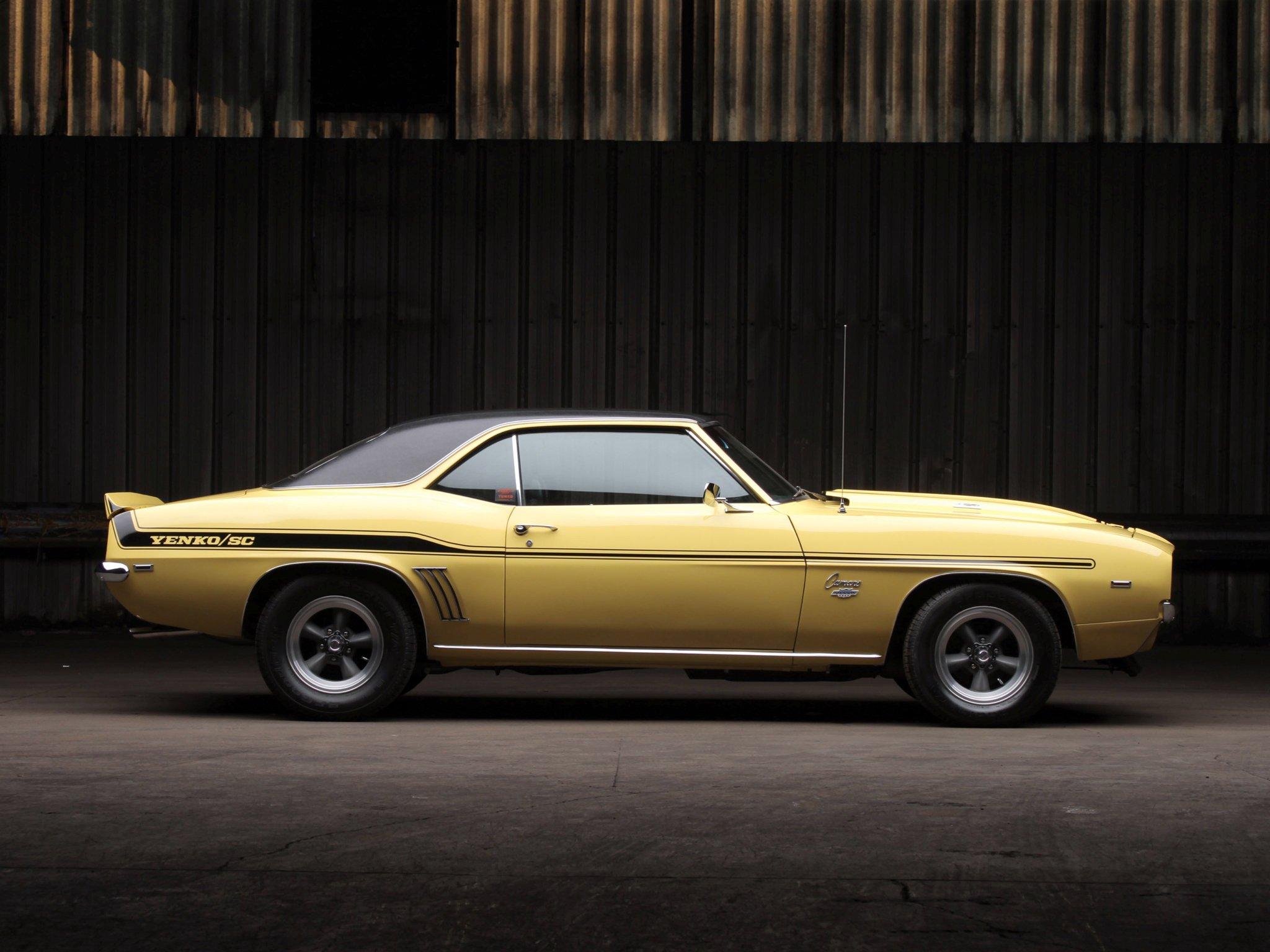1969 Chevrolet Camaro Yenko S C 427 Muscle Classic G Wallpaper 1968 2048x1536 270386 Wallpaperup