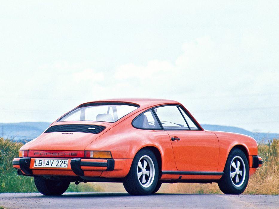 1974-75 Porsche 911 Carrera 2_7 Coupe classic     h wallpaper