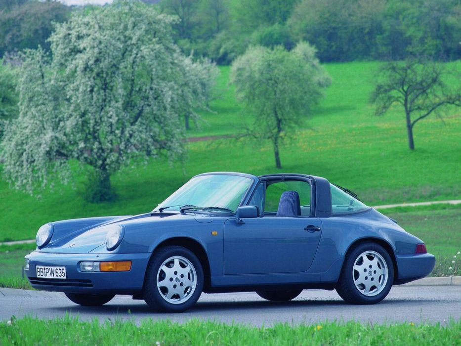 1989 Porsche 911 Carrera 4 Targa 964     f wallpaper