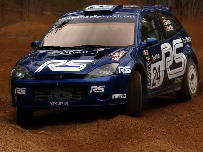 2001 Ford Focus R-S WRC race racing f wallpaper