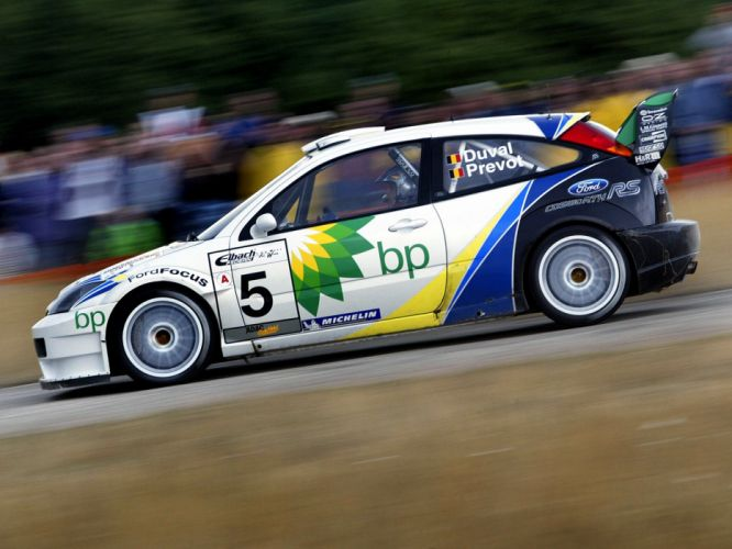 2003 Ford Focus R-S WRC race racing g wallpaper