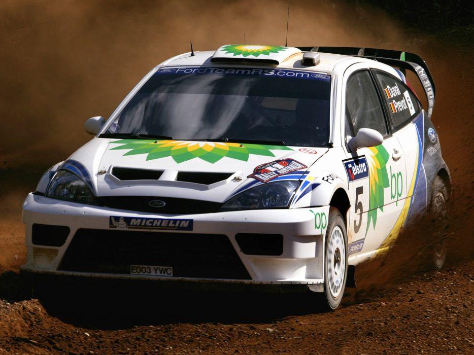 2003 Ford Focus R-S WRC race racing   h wallpaper