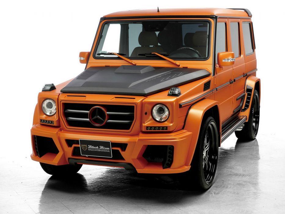 2012 WALD Mercedes Benz G-Klasse Sports Line Black Bison Edition (W463) suv tuning   u wallpaper