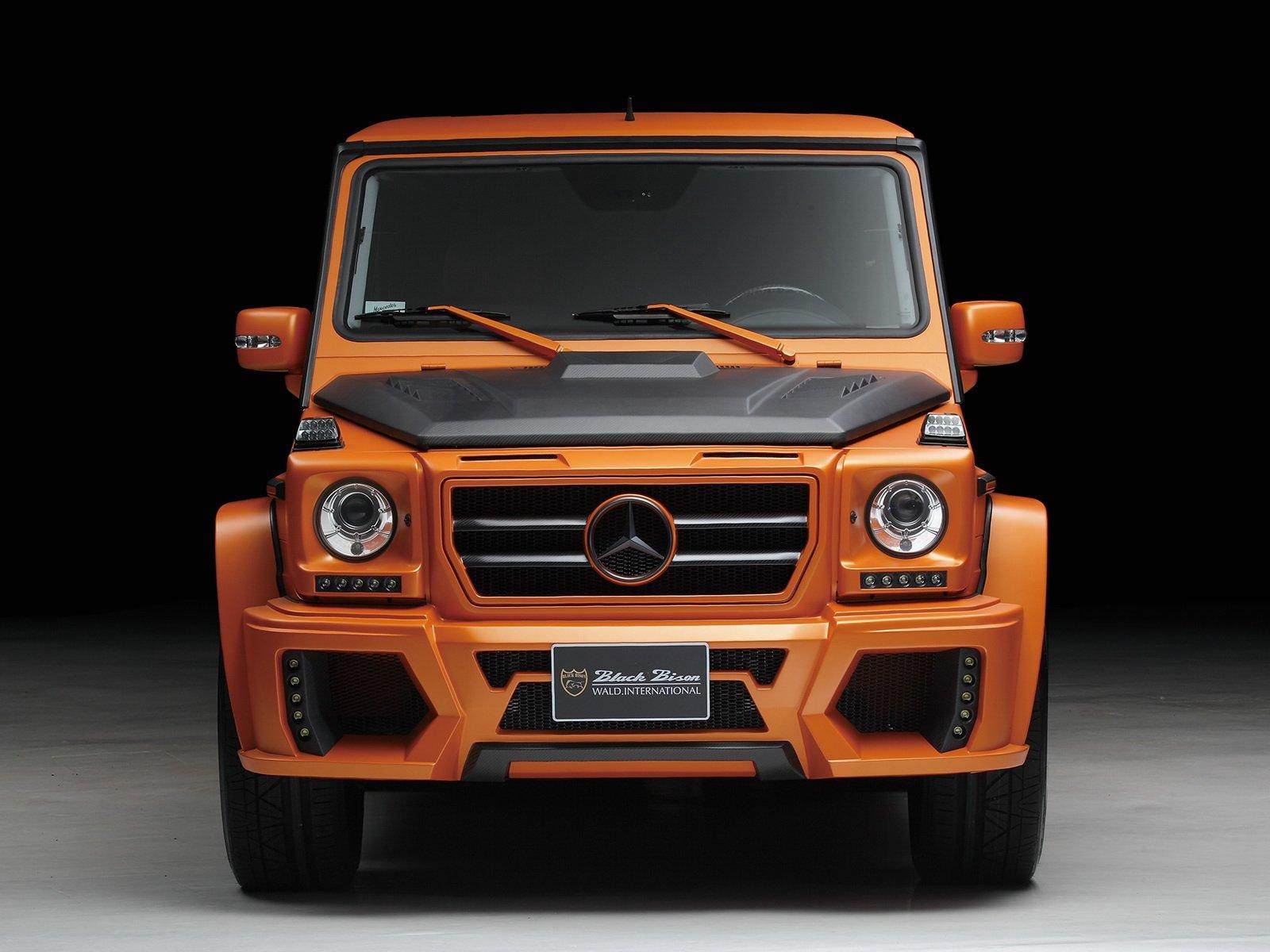 2012 wald mercedes benz g klasse sports line black bison. Black Bedroom Furniture Sets. Home Design Ideas