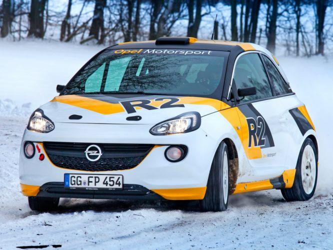 2013 Opel Adam R-2 Cup race racing t wallpaper