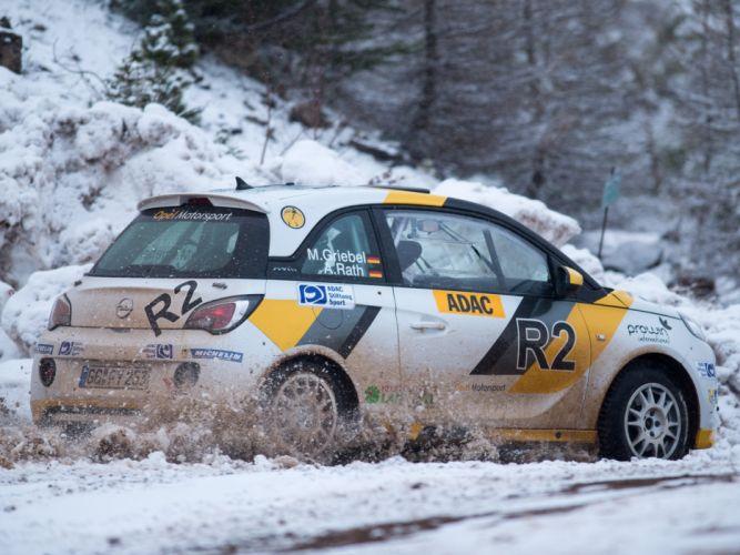 2013 Opel Adam R-2 Cup race racing g wallpaper