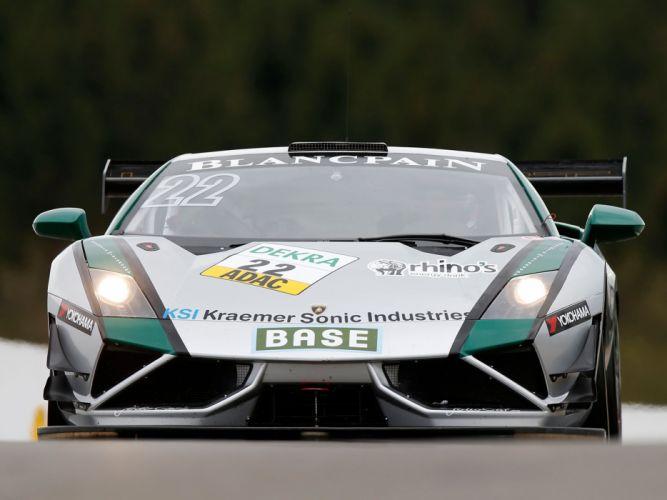 2013 Reiter Lamborghini Gallardo GT3 FL2 supercar race racing g wallpaper