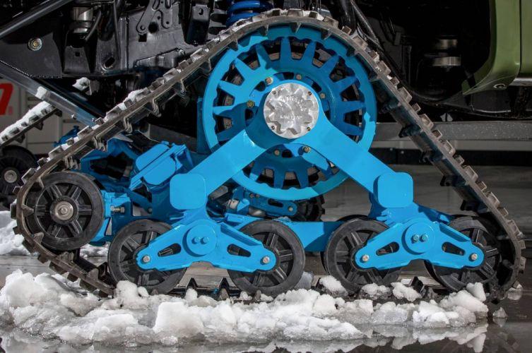 2014 Ford F-150 Raptor TRAX 4x4 winter snow pickup tuning wheel f wallpaper