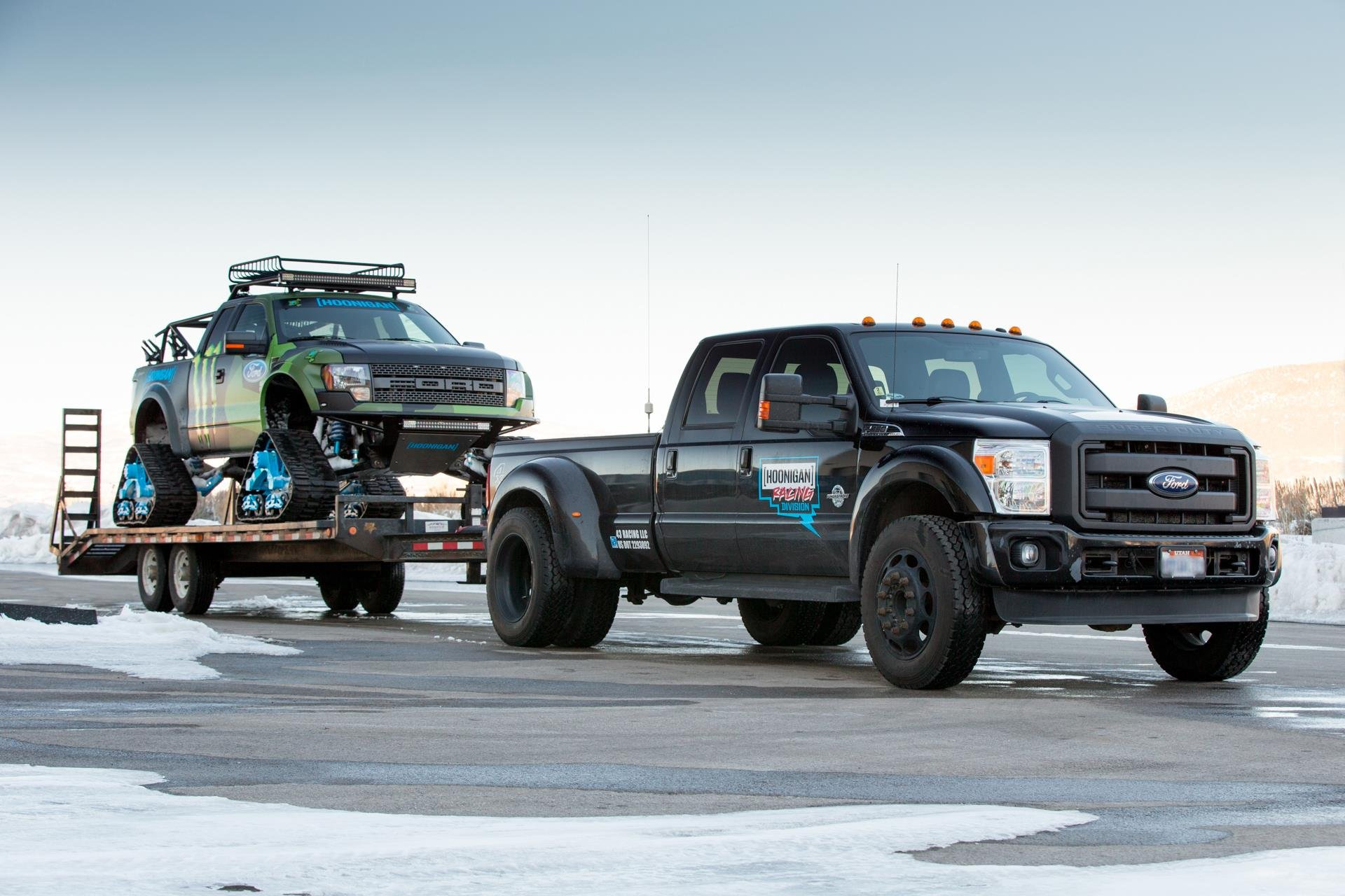 2014 Ford F 150 Raptor TRAX 4x4 Winter Snow Pickup Tuning R Wallpaper