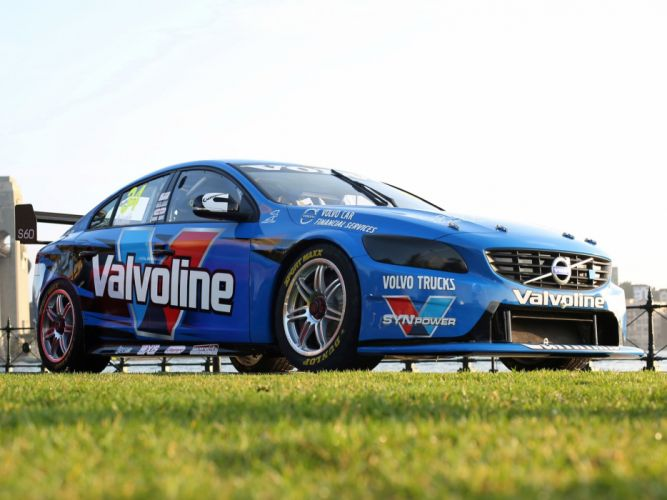 2014 Volvo S60 V-8 Supercars race racing g wallpaper
