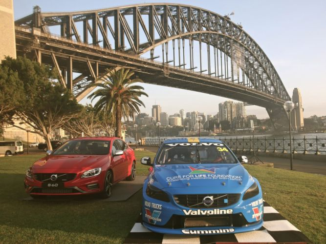 2014 Volvo S60 V-8 Supercars race racing f wallpaper