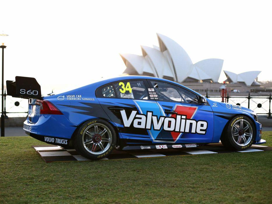 2014 Volvo S60 V-8 Supercars race racing   ge wallpaper