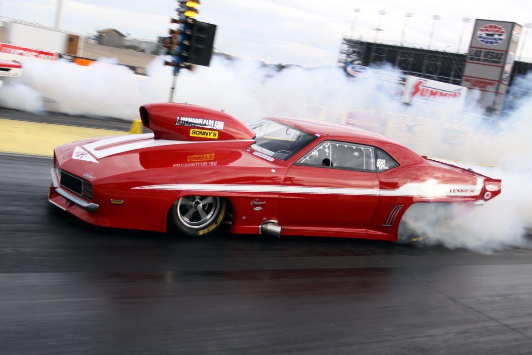DRAG RACING race hot rod rods chevrolet camaro yenko     g wallpaper