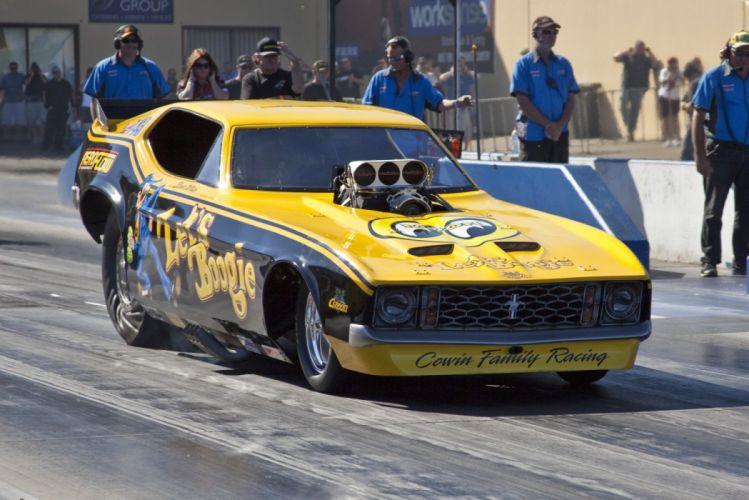 DRAG RACING race hot rod rods funnycar ford mustang g_JPG wallpaper