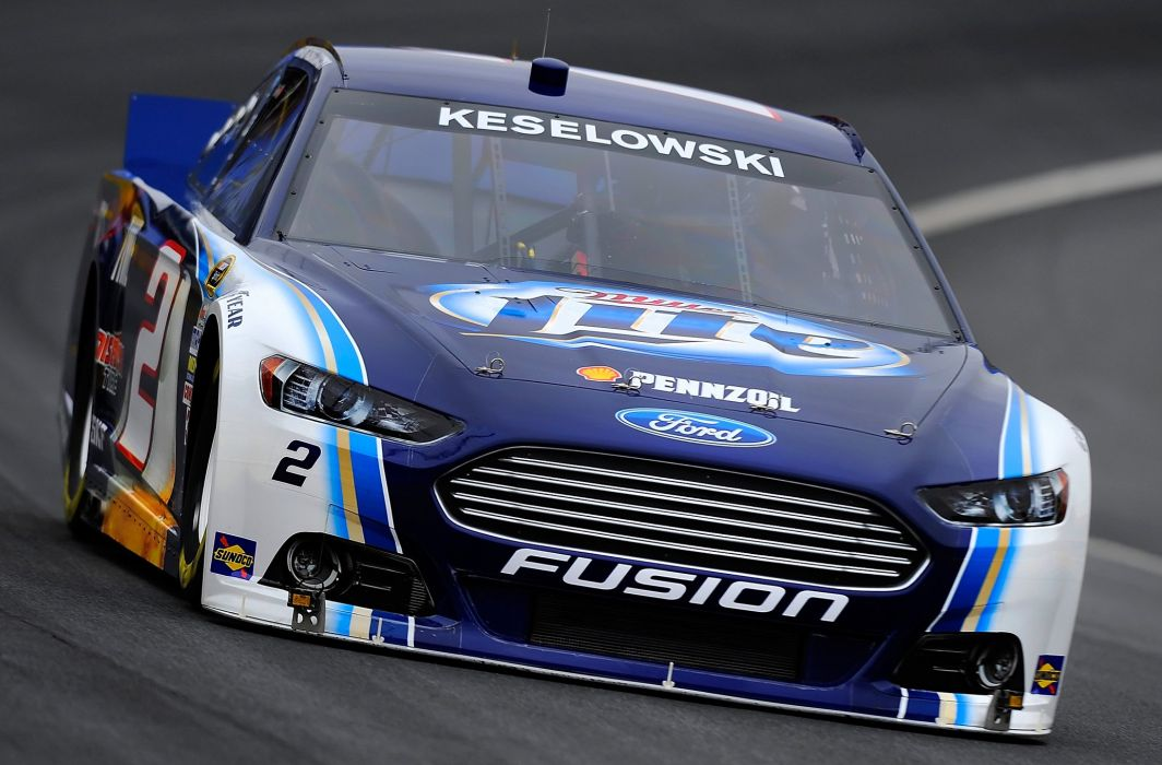NASCAR race racing ford fusion wallpaper