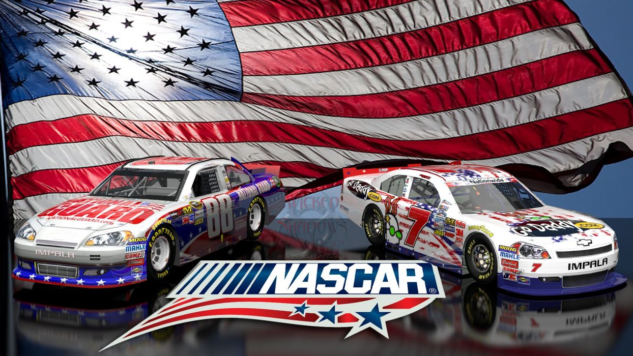NASCAR race racing poster wallpaper