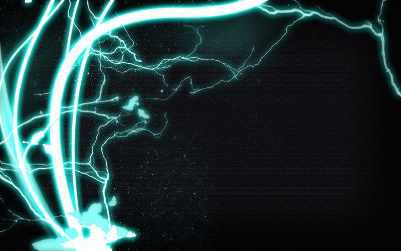 electricity glow wallpaper