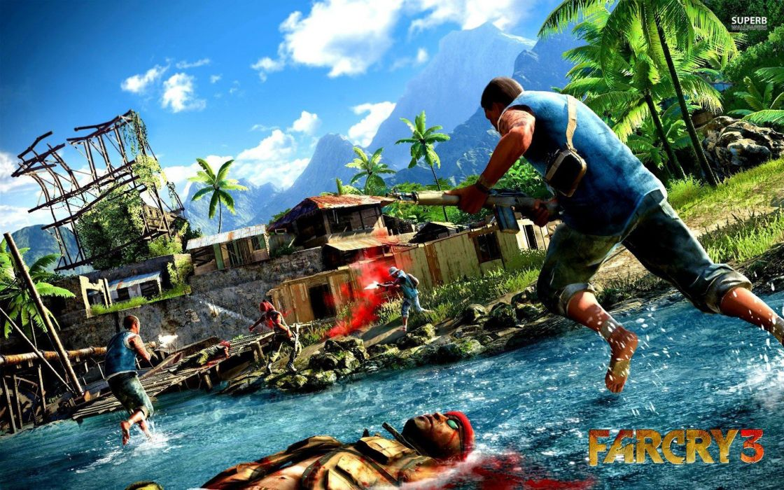 video games Far Cry posters Far Cry 3 screens wallpaper