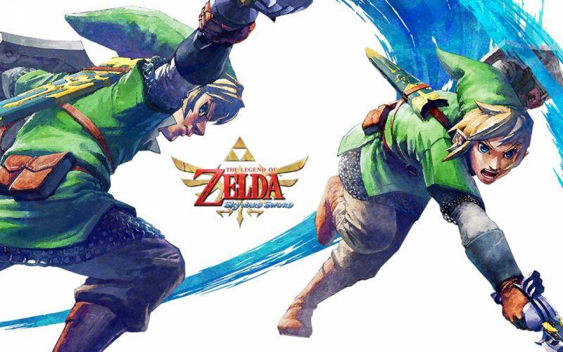 Link The Legend of Zelda The Legend of Zelda: Skyward Sword wallpaper