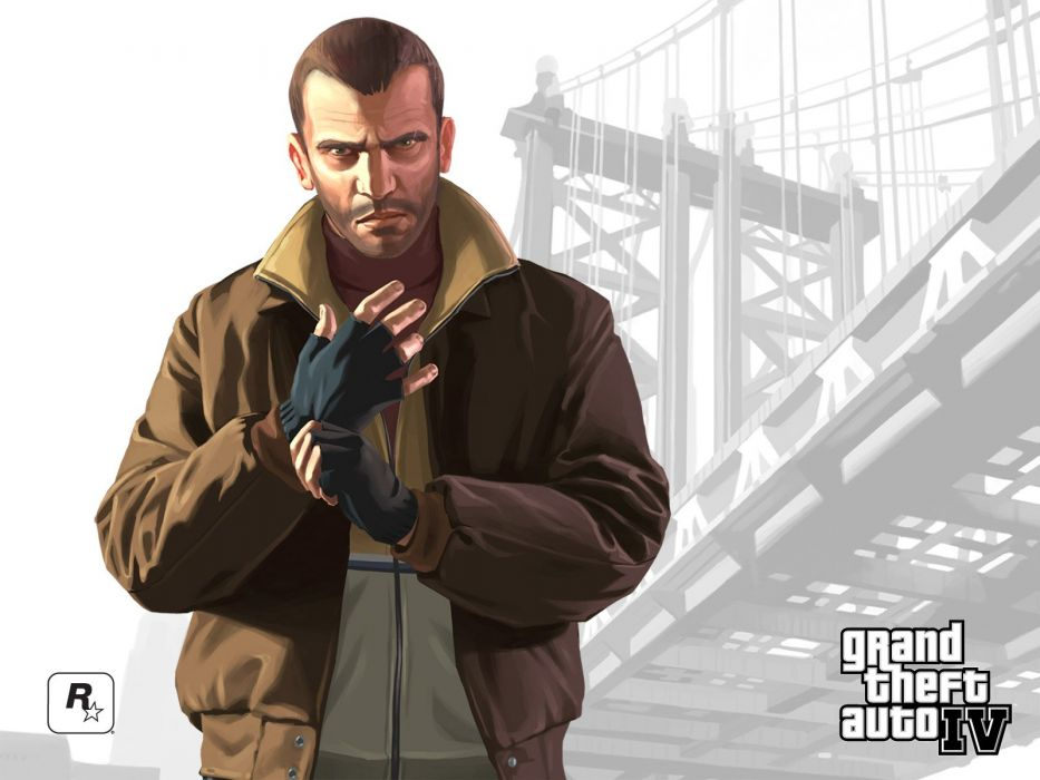 Video Games Grand Theft Auto Niko Bellic Game Covers Gta Iv Wallpaper