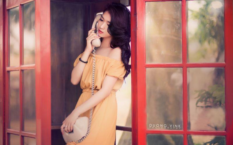 women Asians oriental wallpaper
