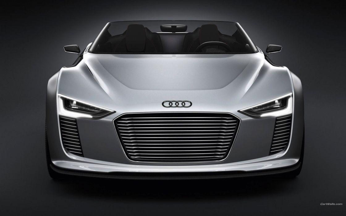 cars Audi Tron concept art spyder wallpaper