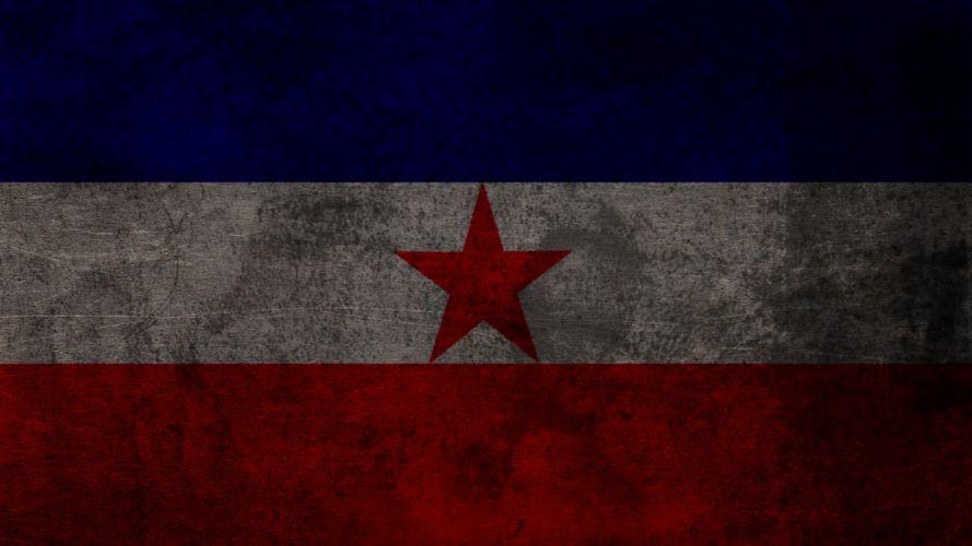 flags Yugoslavia wallpaper