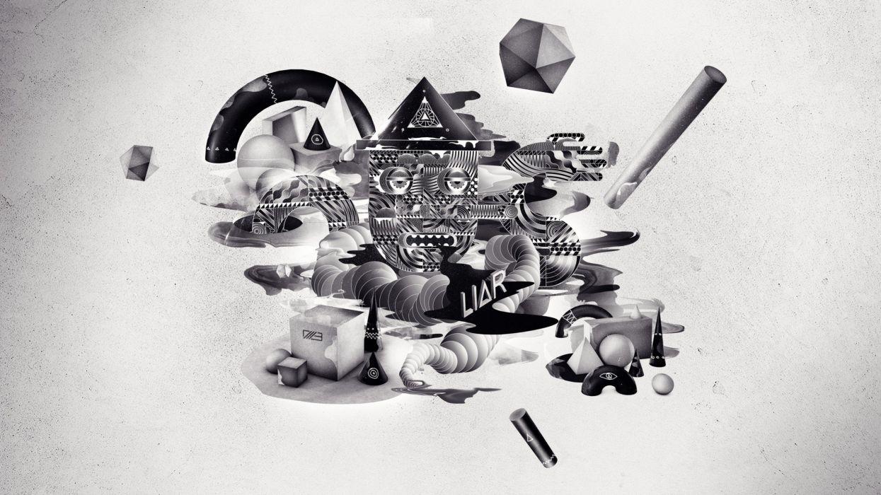 abstract geometry pinokio wallpaper