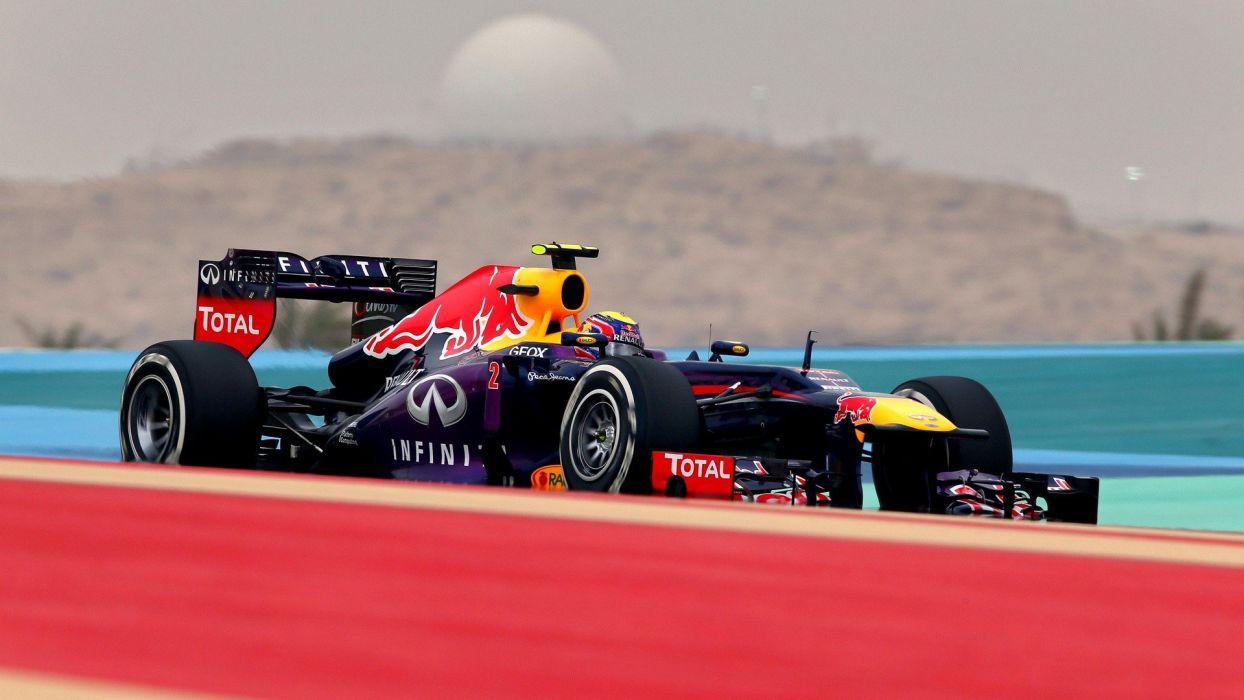 Formula One Red Bull  Mark Webber Bahrain wallpaper