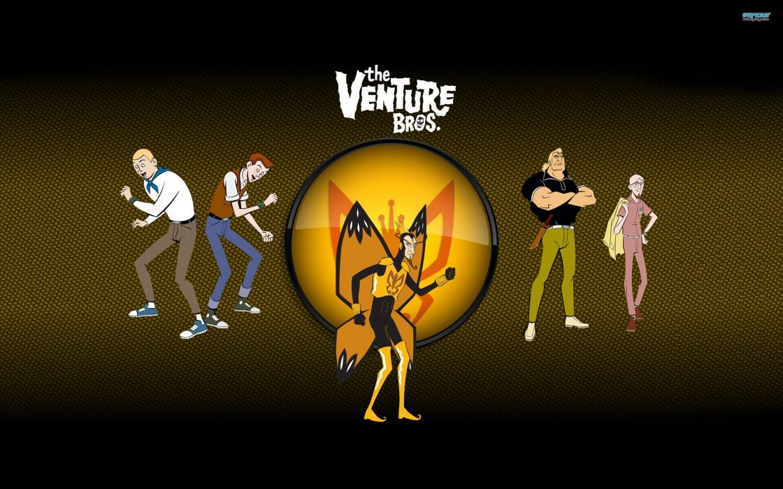 The Venture Bros_ butterfly wings The Monarch butterflies Hank Venture Dean Venture Brock Samson Dr_ Venture wallpaper