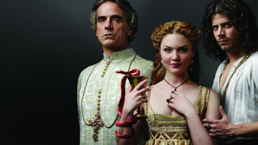 women men Jeremy Irons The Borgias wallpaper