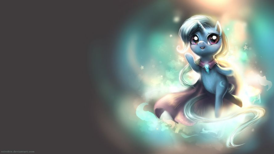 ponies Trixie My Little Pony: Friendship is Magic wallpaper