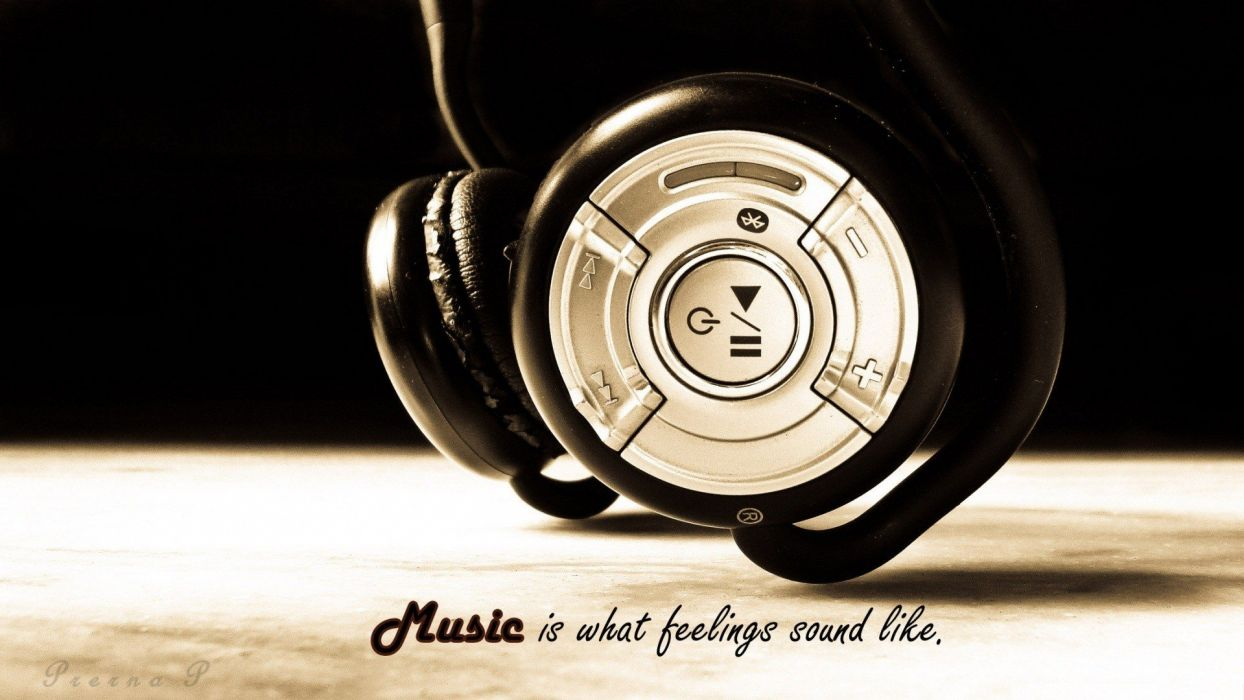 headphones music wallpaper