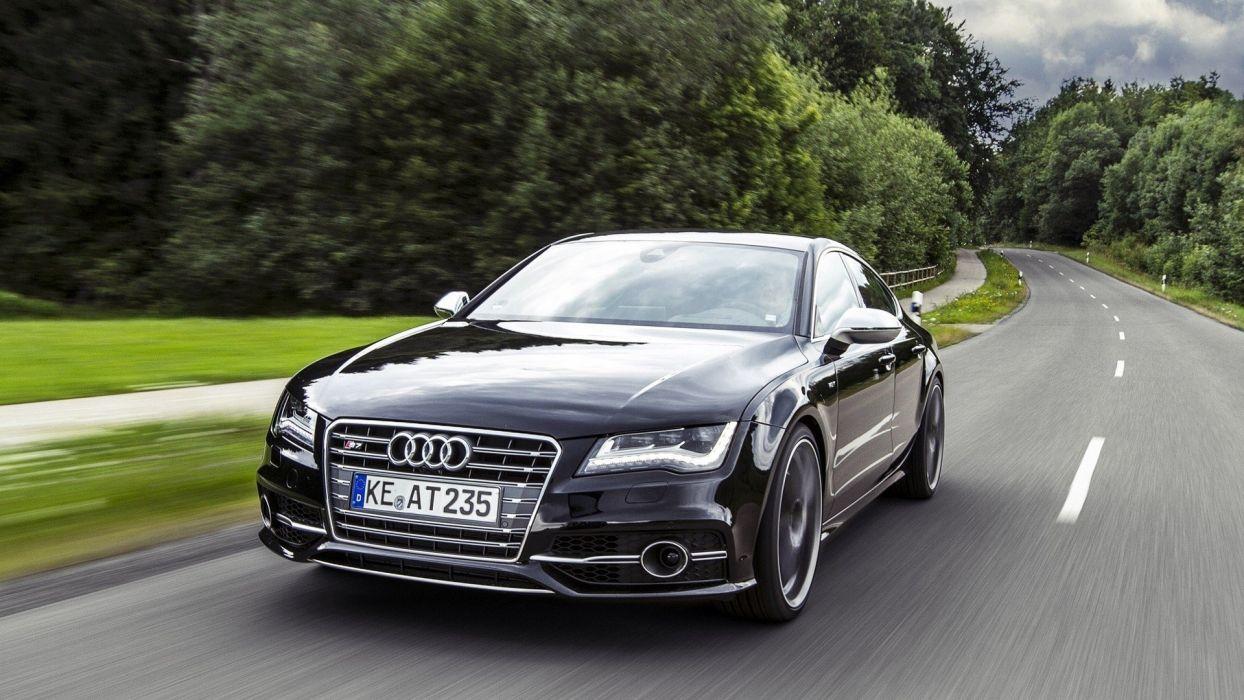 cars Audi roads vehicles Audi S7 LED Led Light wallpaper
