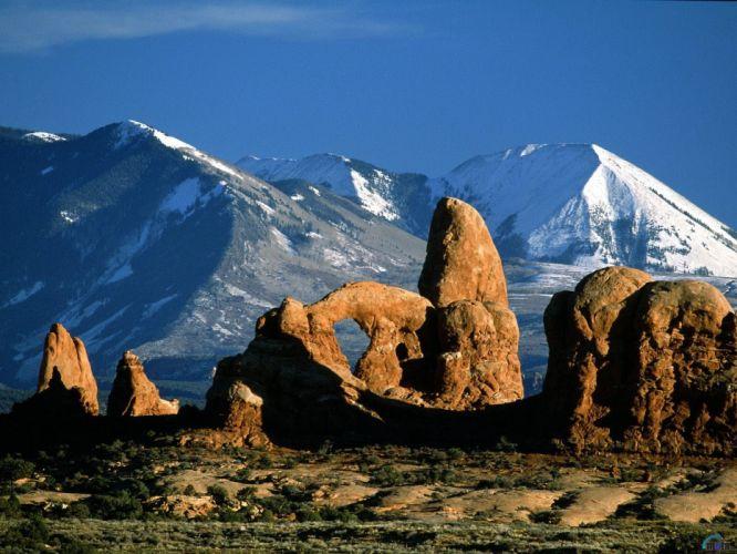 landscapes rock formations wallpaper