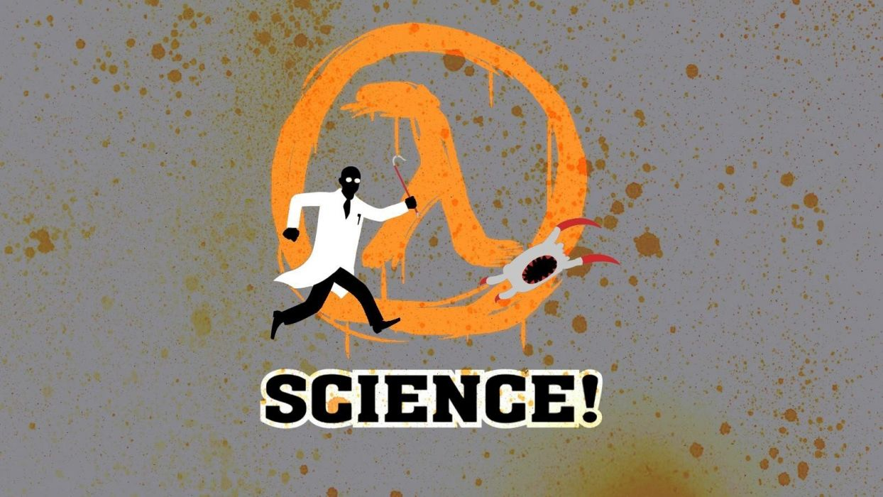 video games science Half-Life wallpaper