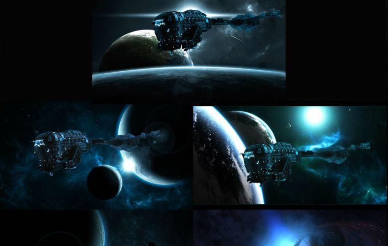 EVENT HORIZON sci-fi horror spaceship wallpaper