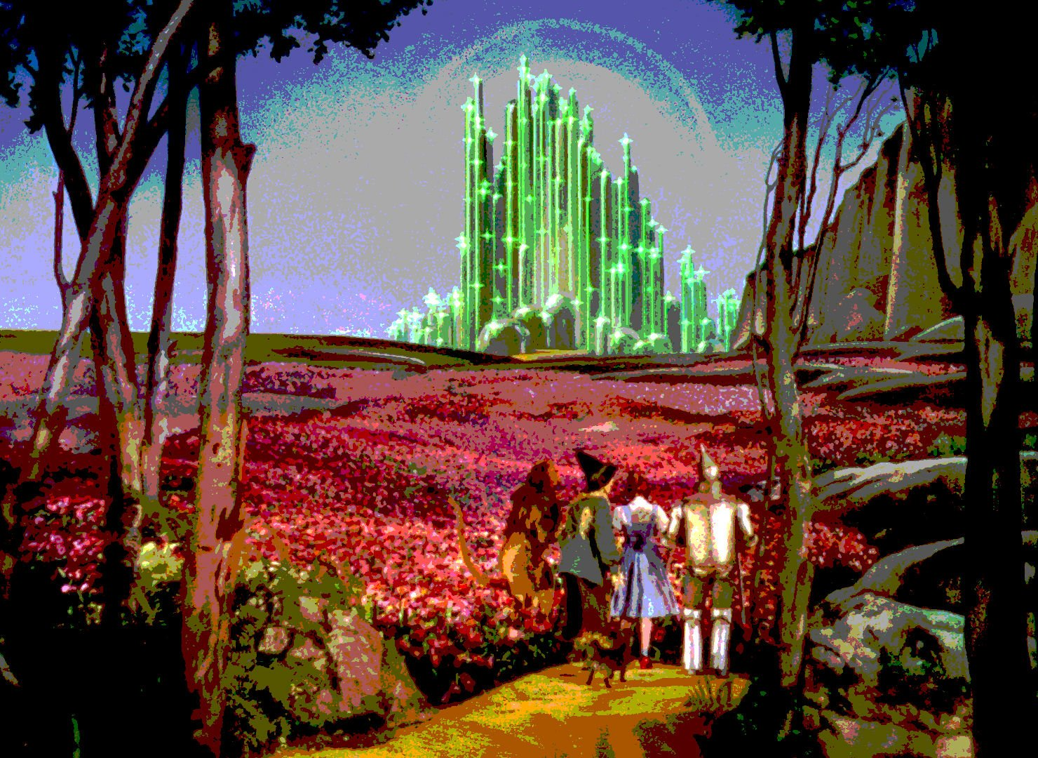 Wizard of o z adventure family fantasy movie film wizard of oz 15 wallpaper 1480x1080 - The wizard of oz hd ...