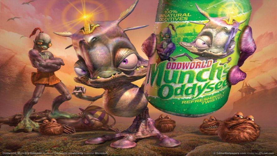 Oddworld: Munch's Oddysee wallpaper