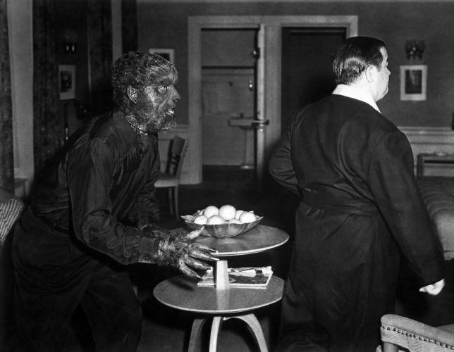 ABBOTT and COSTELLO comedy retro televion movie film werewolf halloween wallpaper