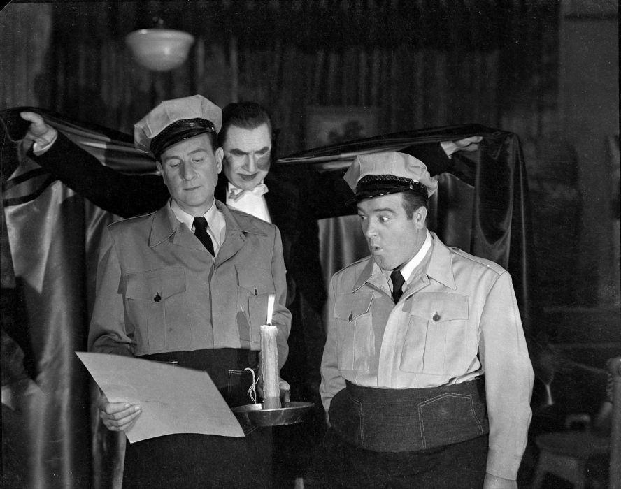 ABBOTT and COSTELLO comedy retro televion movie film dracula vampire halloween wallpaper